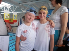 Команда ДЮСШ «Лидер» по плаванию