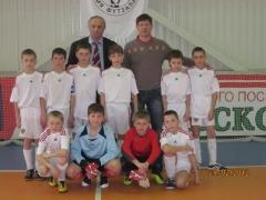Команда мальчиков ДЮСШ «Лидер» по футболу