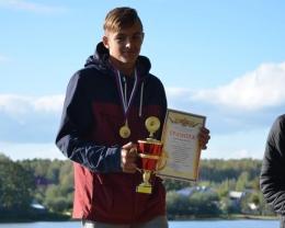Сергей Немов стал победителем и призером Всероссийских соревнований по гребле в Краснодаре