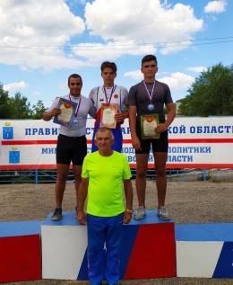 Медали первенства России по гребле на байдарках и каноэ до 19 лет