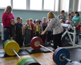 """Воспитанники детского сада №14 посетили ФСК """"Лидер"""""""