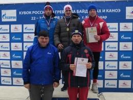 Призеры Кубка России по гребле на байдарках и каноэ